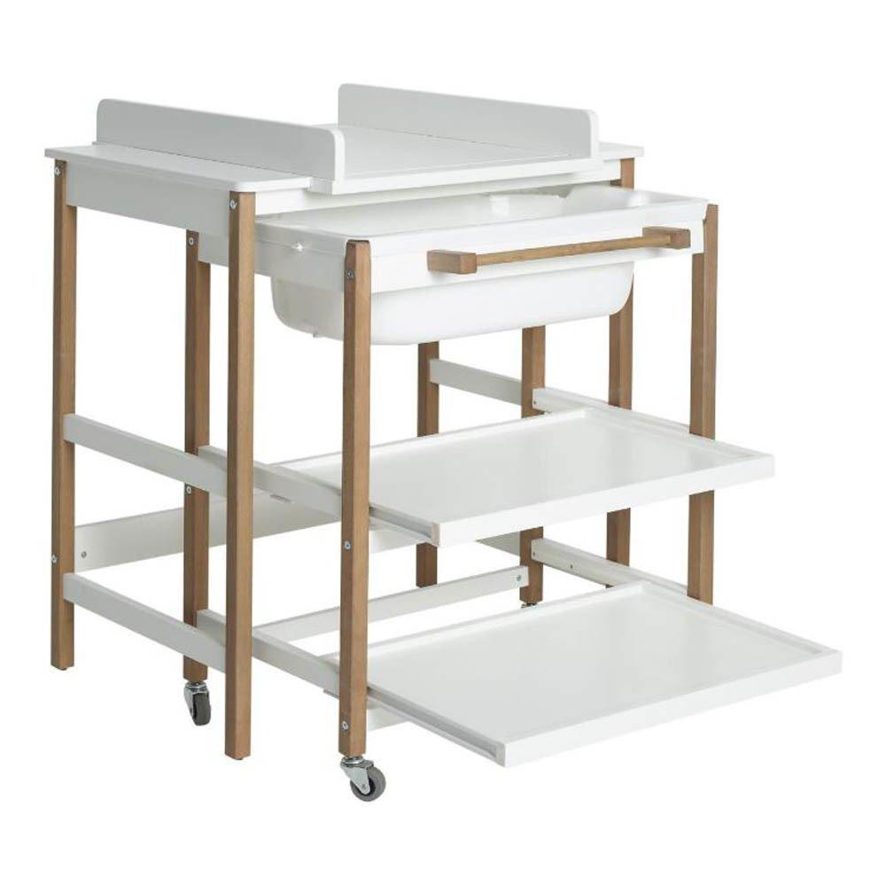 Table à langer avec baignoire Smart Blanc Quax Design Bébé