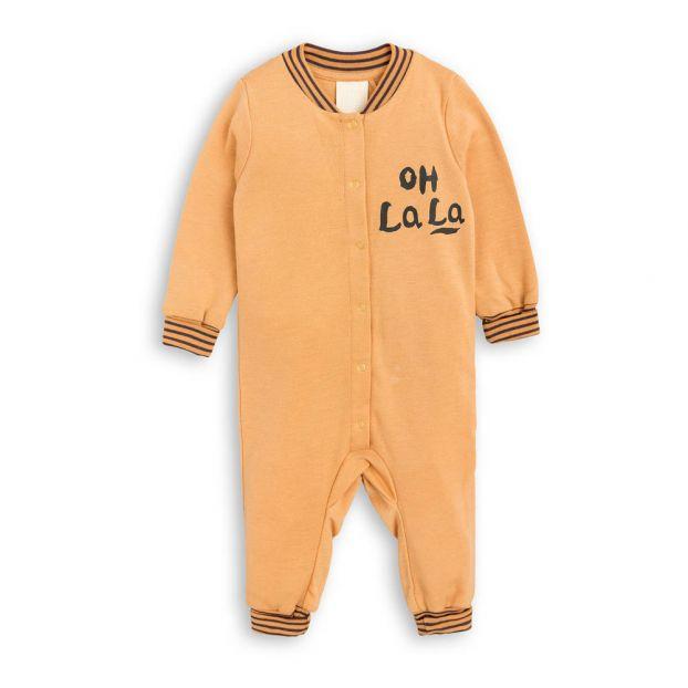 4ec87c0b9f80 Ohlala Capsule Jumpsuit Rust Mini Rodini Fashion Baby