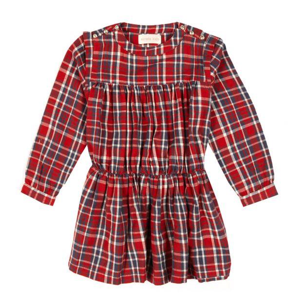 quality design eb692 8876c Vestito a Quadri Rosso