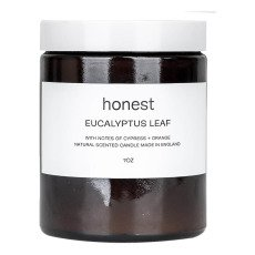 product-Honest Skincare Eucalyptus Leaf Scented Candle