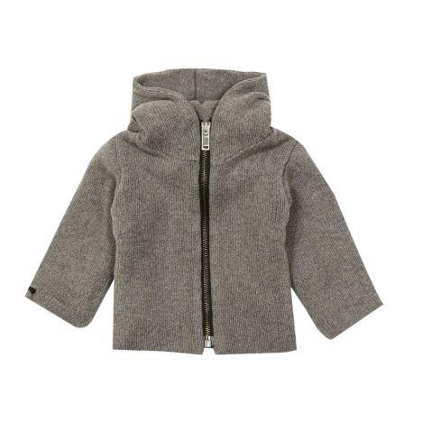 1213816e3eb39 Double Zip Sweatshirt Charcoal grey Album di famiglia Fashion