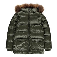 product-Pyrenex Mat Authentic Fur Down Jacket