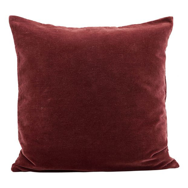 Coussin Velours Rouge