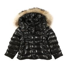 product-Moncler Armoise Fur Lined Hooded Jacket