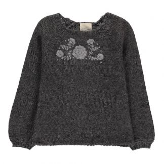 386bc942a04 Louis Louise Coline Embroidered Flower Jumper-listing