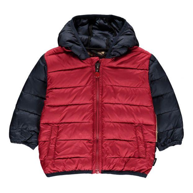 a45b05d4a6ee Colourblock Hood Down-Jacket Navy blue Imps   Elfs Fashion Baby