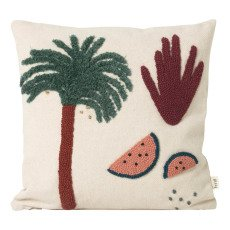 product-Ferm Living Kids Coussin palmier