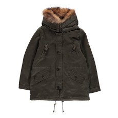 product-Blonde No.8 Aspen Fur Lined Hooded Parka