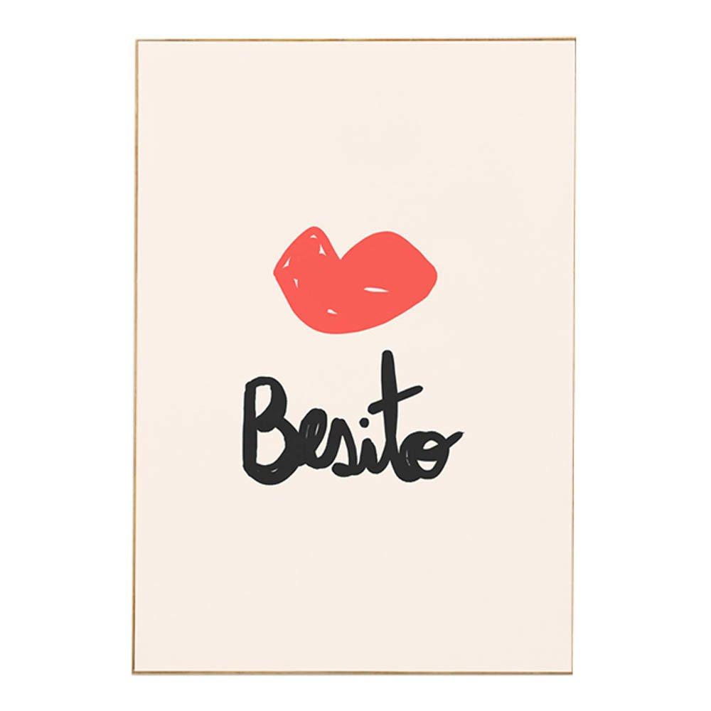 Poster Besito Idee