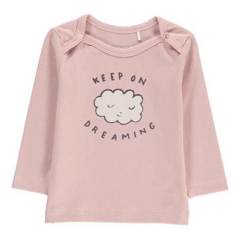 e13a12c5a38 Cloud Organic Cotton T-Shirt Pale pink Imps   Elfs Fashion Baby