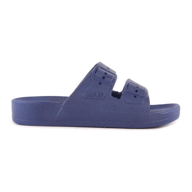 e164941ffa931 Buckled Sandals Blue Moses Shoes Teen