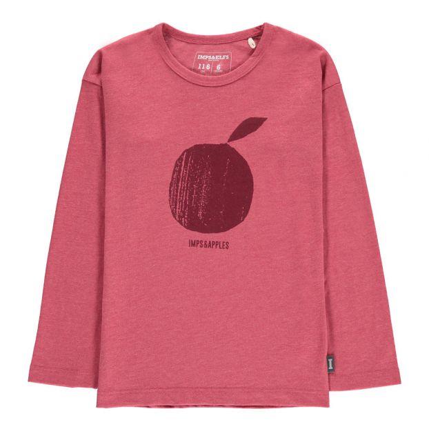 409eb58cb1e Apple Organic Cotton T-shirt Pink Imps   Elfs Fashion Baby