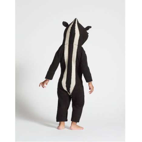 Furet Hooded Baby Alpaca Wool Jumpsuit-product