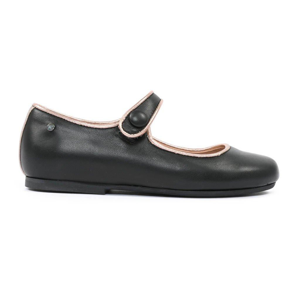 Diti Leather Mary Janes Dark Grey Manuela De Juan Shoes Teen D Island Slip On Mocasine Casual Black