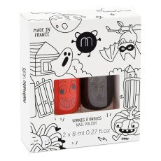 product-Nailmatic Kids Coffret 2 vernis Halloween - Dori et Casper