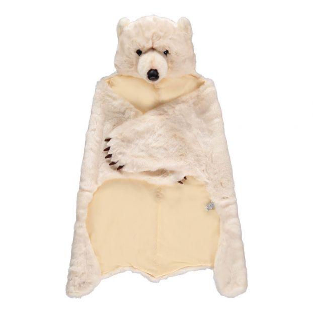 Bianco Animale Orecchie Orso Polare Costume Accessorio
