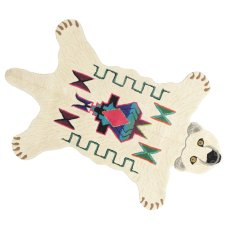 product-Smallable Home Fleece Bear Rug