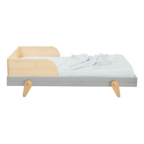 Petipeton Junior Bed 70x140cm Grey Laurette Design Baby