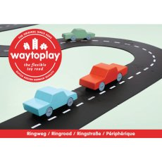 product-Waytoplay Adjustable Car Track - 12 Pieces