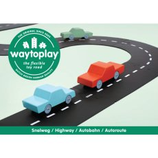 product-Waytoplay Adjustable Car Track - 24 Pieces
