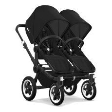 product-Bugaboo Cochecito Donkey² twin completo chasis negro/negro
