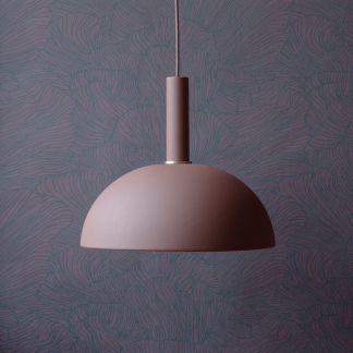 tapete konfetti gold mattrosa ferm living design erwachsene. Black Bedroom Furniture Sets. Home Design Ideas