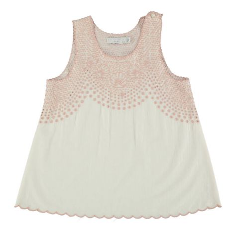 Top Coton Bio Broderie Anglaise Adriana-product