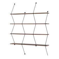 product-La Chance Black Climb Shelf 120cm, Bashko Trybek