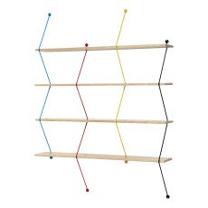 product-La Chance Multicoloured Climb Shelf 120cm, Bashko Trybek