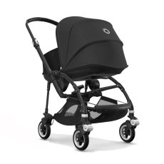 product-Bugaboo BEE5 Complete Convertible Pushchair with Black Frame, Black Seat and Black Carrycot