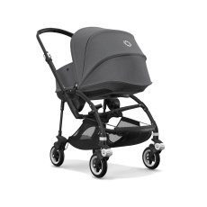 product-Bugaboo BEE5 Complete Convertible Pushchair with Aluminium Frame, Black Seat and Carrycot