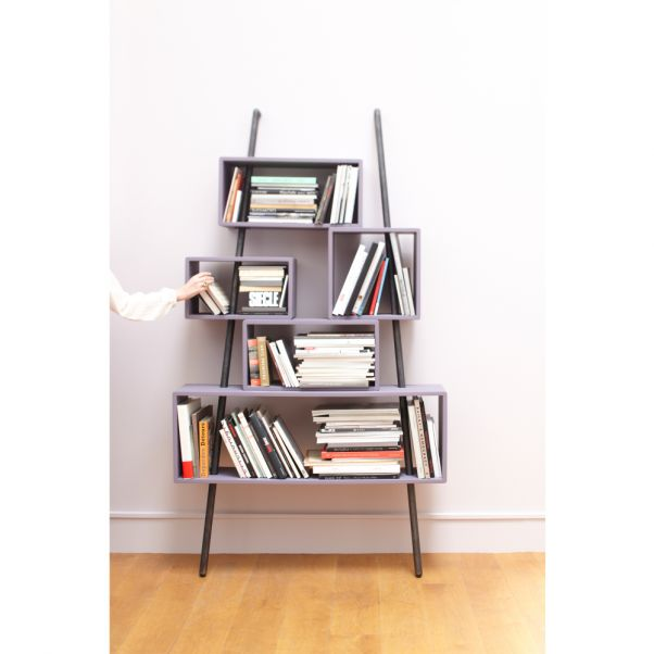La Folie Coal And Copper Bookshelf Product