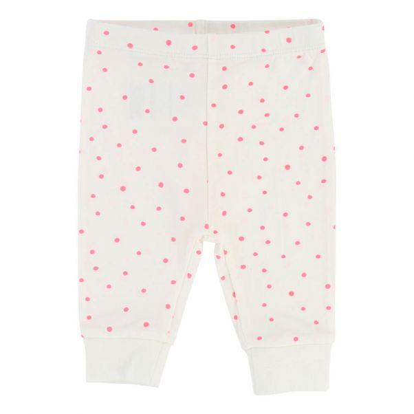 3c0f9dfbc Dot Leggings Ecru Billieblush Fashion Baby