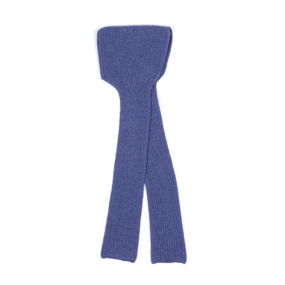892cf7b002 Ribbed Organic Merino Wool Hat & Scarf Purple Nui Fashion Baby ,