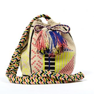 Guanabana Medium Wayuu Bucket Bag Listing