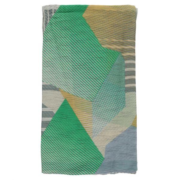Foulard Coton et Soie Roche Vert pâle Ma poésie Mode Adulte 6ae28031f20