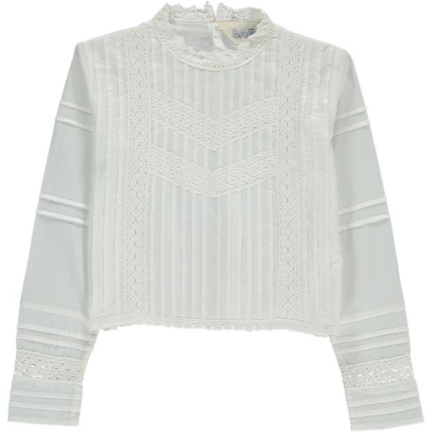 08a7fb73b2dc7c Blus Embroidered Blouse White Atelier Barn Fashion Teen ,