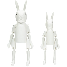 product-Place Colette Articulated Rabbits - Set of 2