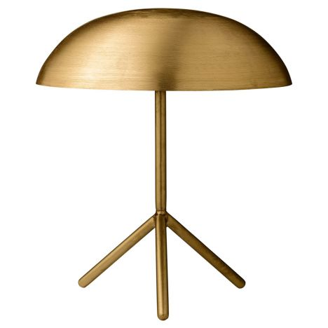 Table Lamp Gold Bloomingville Design Adult