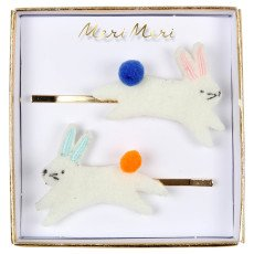 product-Meri Meri Rabbit Hair Grips - Set of 2