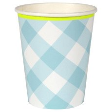 product-Meri Meri Gingham Paper Cups - Set of 12