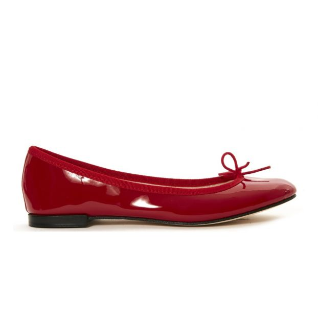 3244532d77d4 Cendrillon Patent Ballerinas Red Repetto Shoes Adult