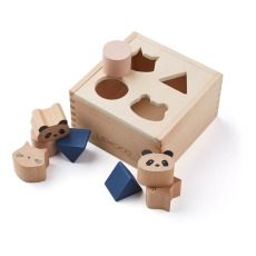 product-Liewood Mateo Wooden Shapes Box