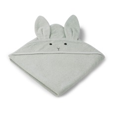 product-Liewood Augusta Rabbit Organic Cotton Sweat Bath Cape