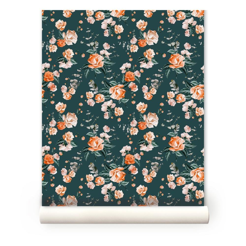 Papier peint Floral N°3 Maison Baluchon Design Adulte