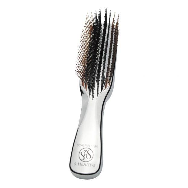 e45953198522be Brosse à cheveux Scalp + Argenté S.Heart.S Design Adulte