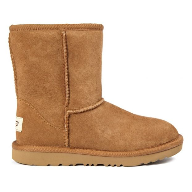c43403e4b40 Classic II Fur Lined Suede Boots Camel
