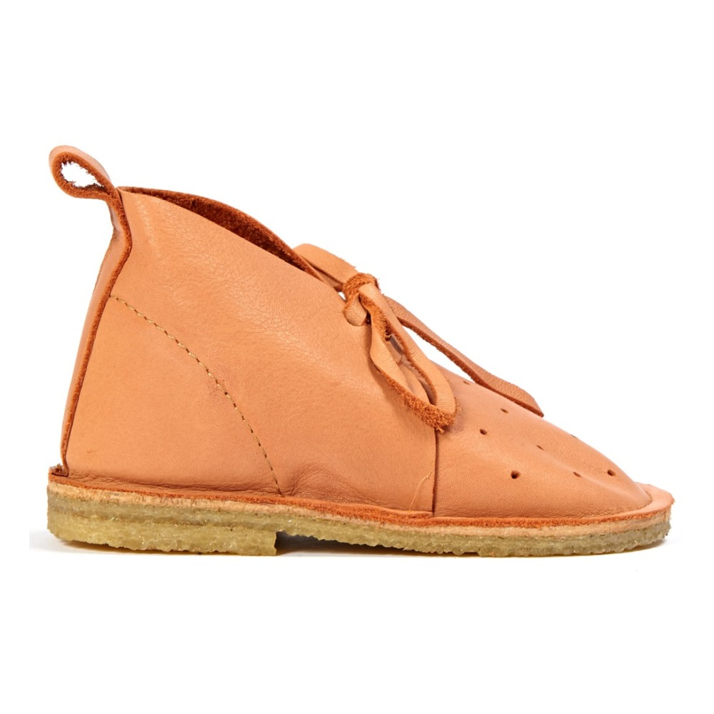 Boots Cuir Pois