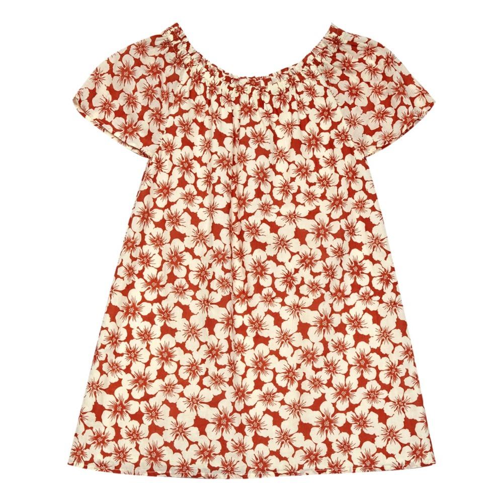 Hibiscus flower dress orange nice things mini fashion children hibiscus flower dress orange nice things mini fashion children izmirmasajfo