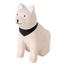 product-T-Lab Akita Dog Wooden Figurine